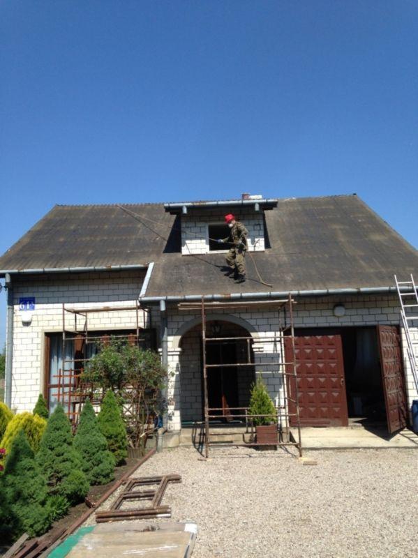 budowanie dachu 1