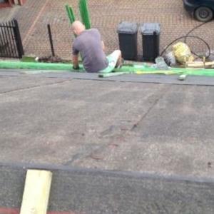 budowanie dachu 2